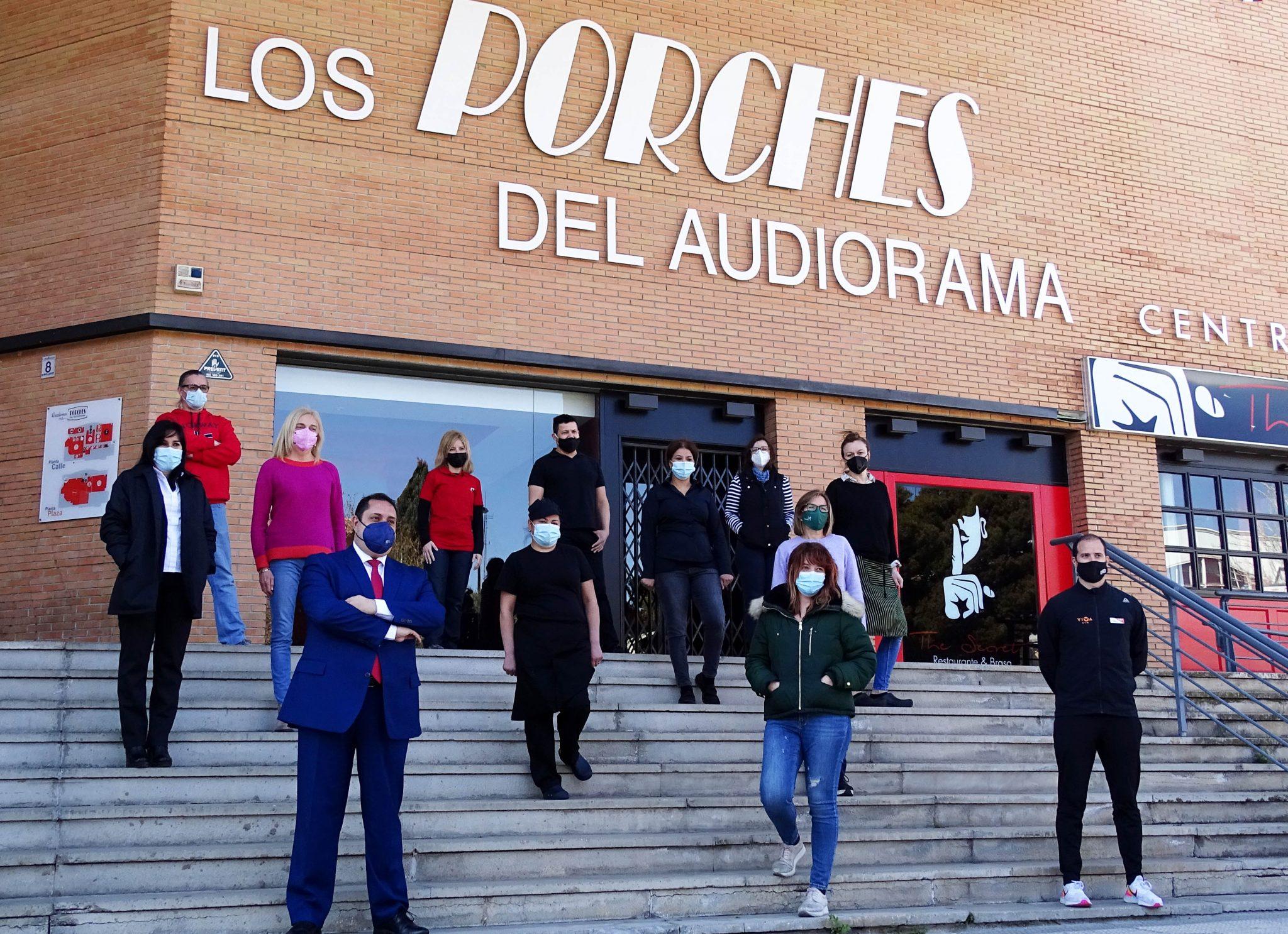 Los Porches del Audiorama impulsa su estrategia digital en apoyo a los establecimientos
