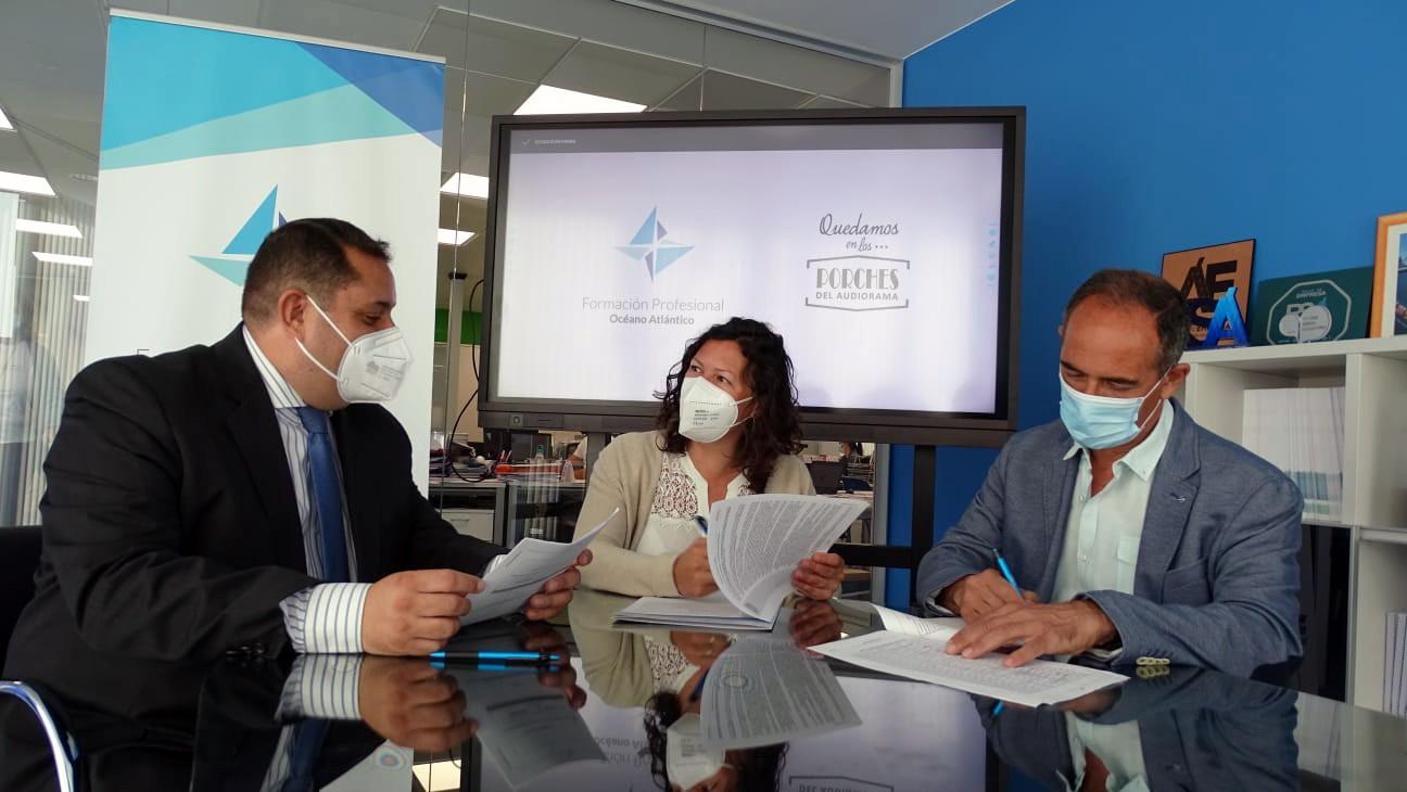 Océano Atlántico abre 1.500 metros cuadrados dedicados a la formación sanitaria en Los Porches del Audiorama