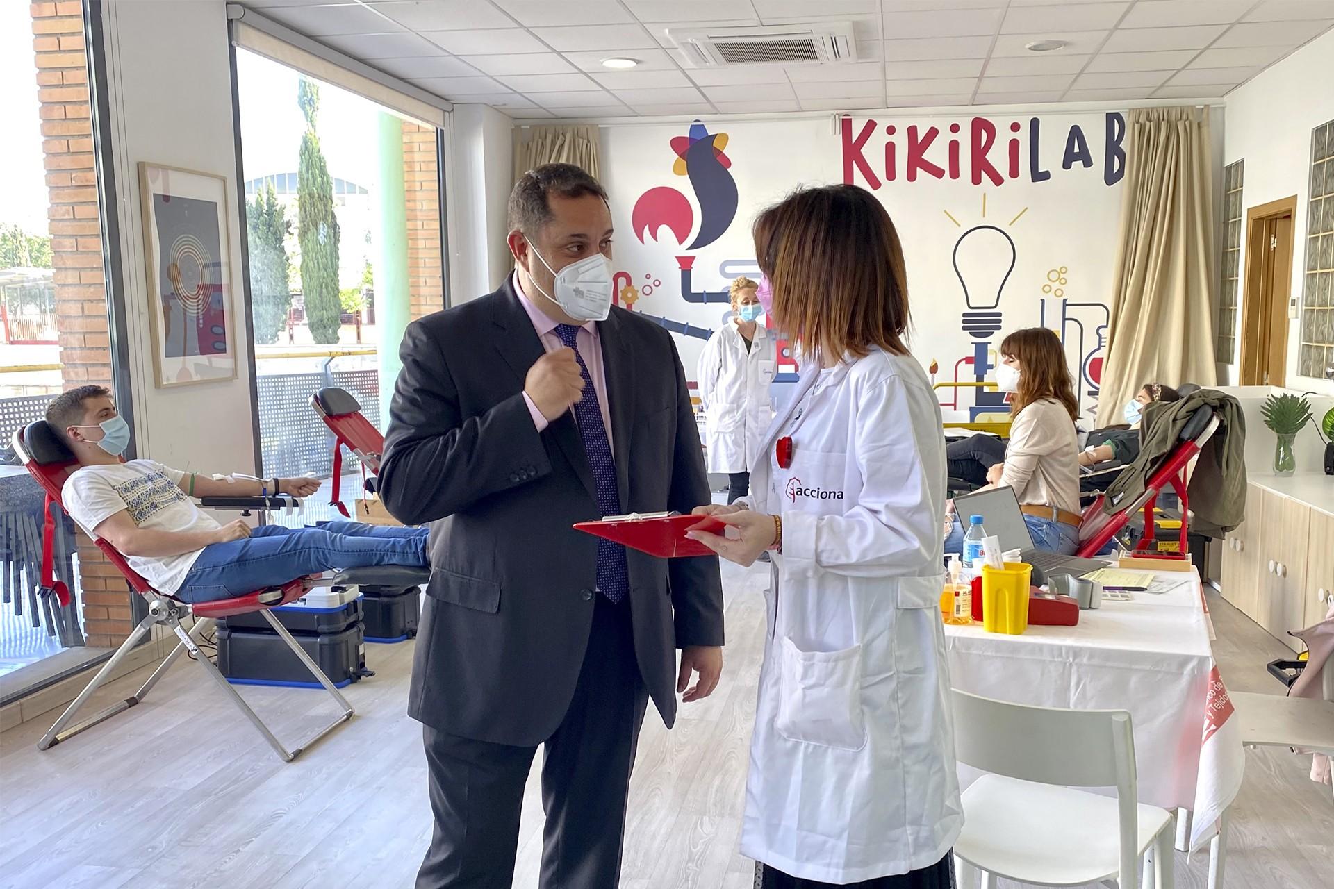 Los Porches del Audiorama da otro paso en su compromiso social y organiza una donación de sangre en sus instalaciones