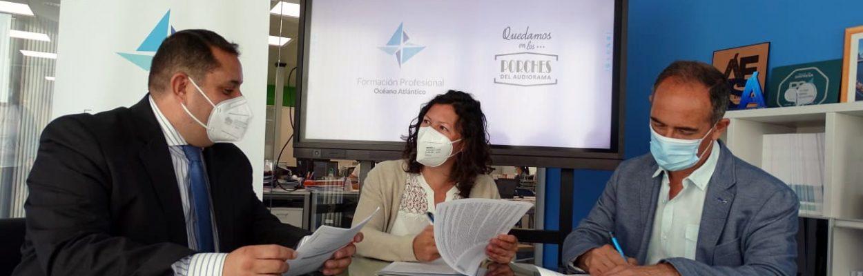 céano Atlántico abre 1.500 metros cuadrados dedicados a la formación sanitaria en Los Porches del Audiorama
